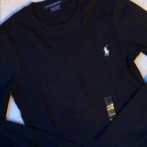 RL Black Long Sleeve Tshirt, NWT
